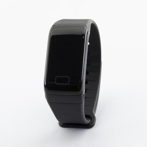 Браслет здоровья с автоматическим измерением давления, пульса и кислорода Health Band №1 (чёрный)
