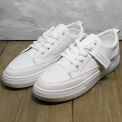 Кеды туфли женские El Passo 820 All White.