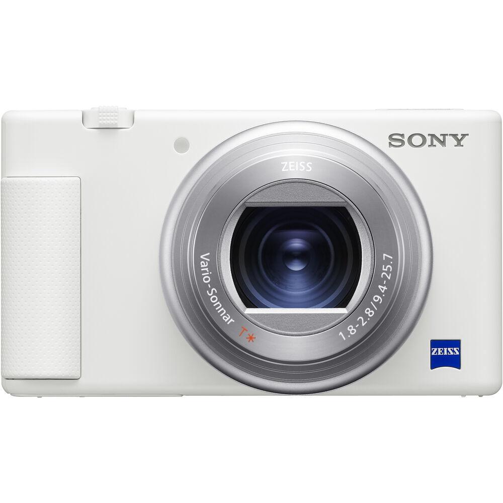 Камера Sony ZV-1 белого цвета для блогеров