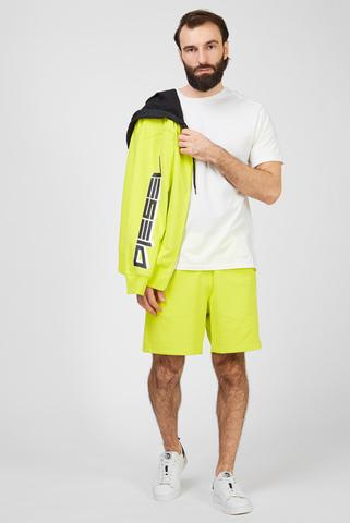 Мужские желтые шорты BMOWT-EDDY Diesel