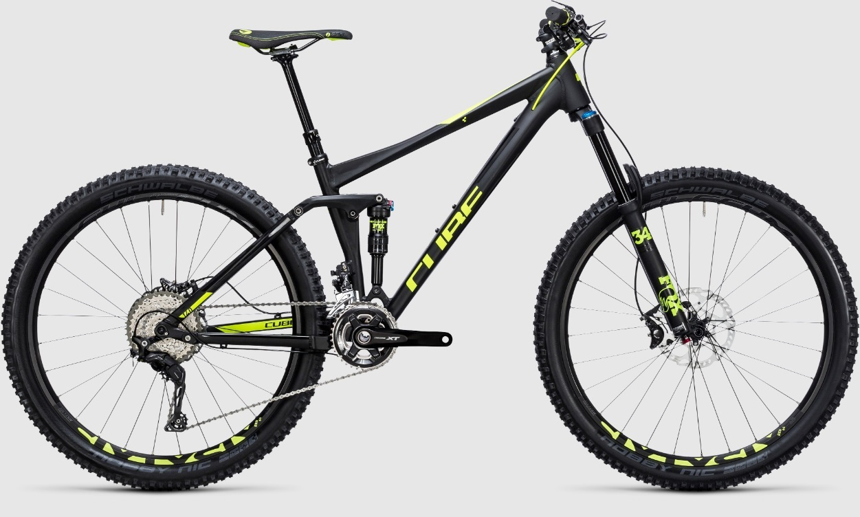 Cube Stereo 140 HPA Race 27.5 (2017)
