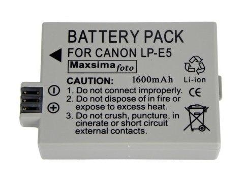 Аккумулятор для фотоаппарата Canon LP-E5  LPE5