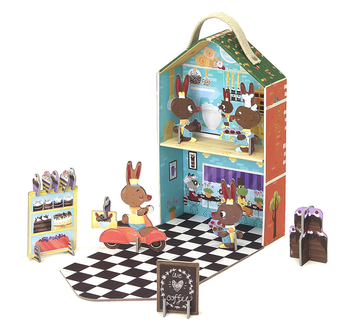 Игровой набор Krooom Кроличья пекарня