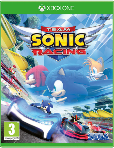 Team Sonic Racing (Xbox One/Series X, русские субтитры)