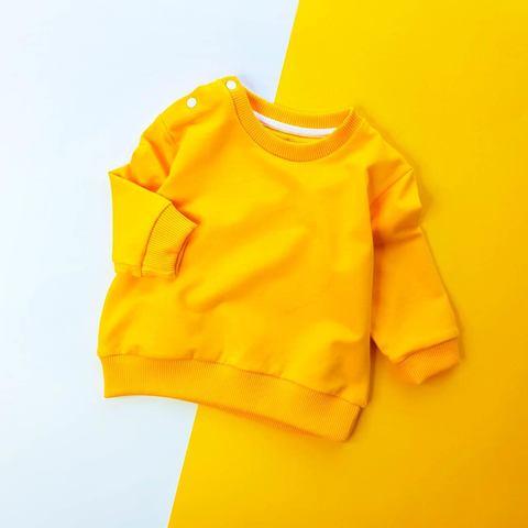 Свитшот желтый