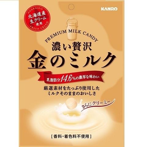 Kanro Premium молочная карамель 80 гр., 1*6шт*8бл.Арт-13397