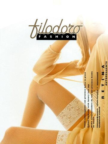 Filodoro Retina aut. чулки avorio