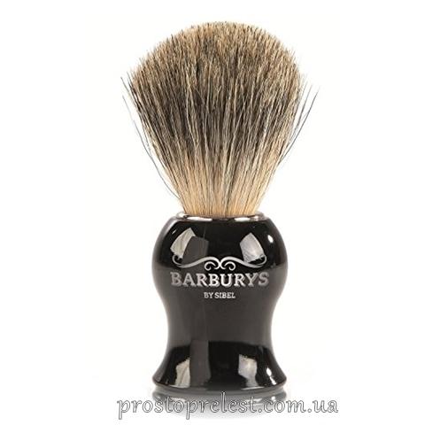 Barburys Grey Silhouette - Кисть для гоління