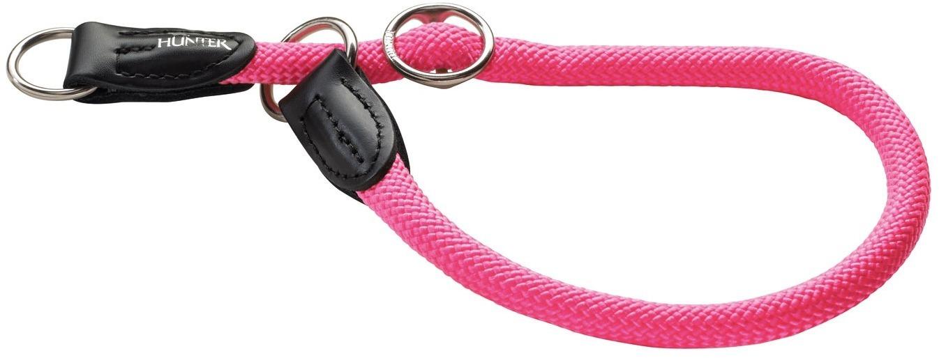 Ошейники Ошейник-удавка для собак Hunter Freestyle Neon 55/10, нейлоновая, розовый неон 61709.jpg