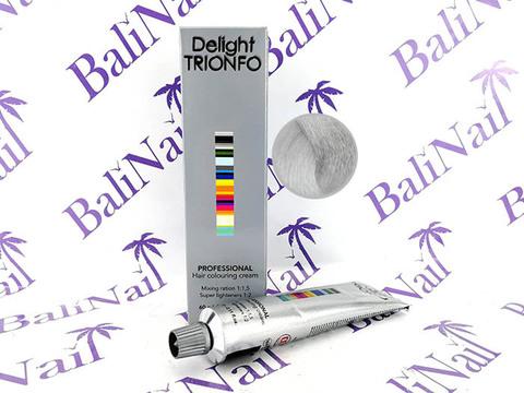 TRIONFO 12-11 стойкая крем-краска для волос Специальный блондин сандре-жемчужный, 60 мл