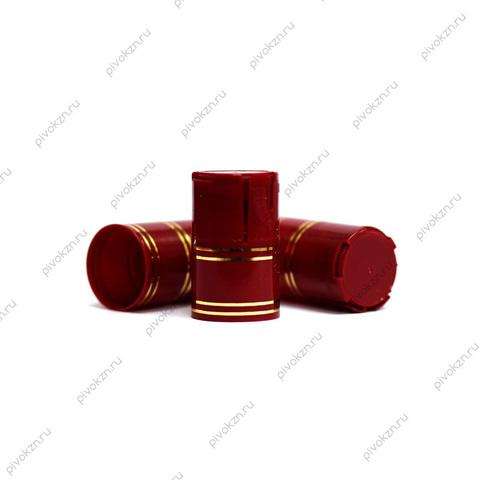 Колпачок Купола Лайт, бордовый, 10 шт