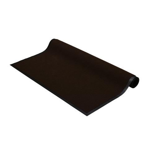 """Коврик влаговпитывающий, ребристый """"TRIP"""" 90*120 см, коричневый"""