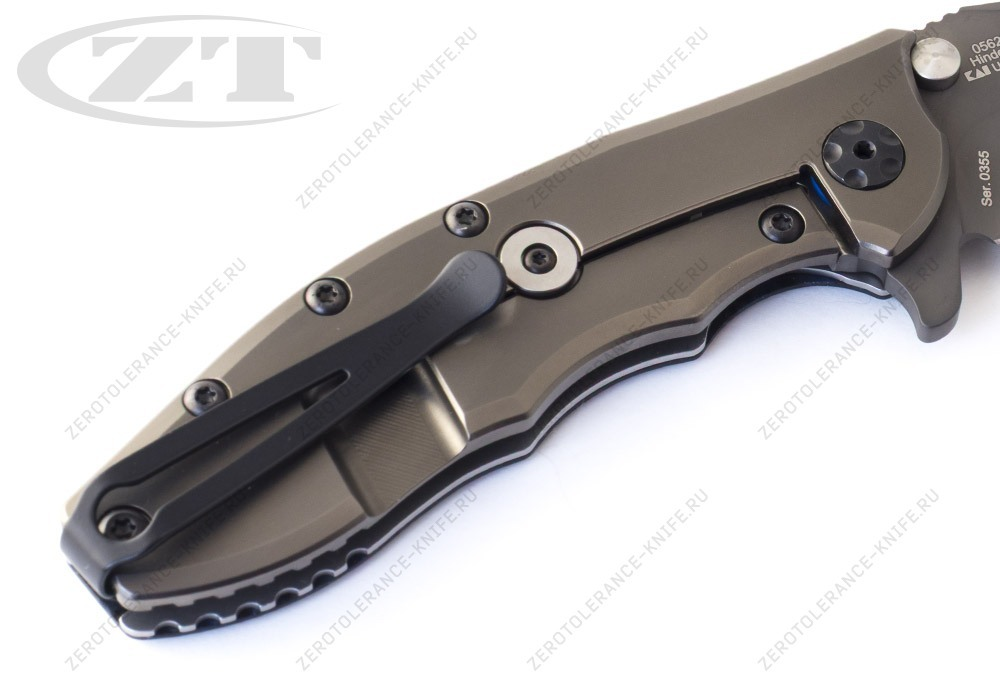 Нож Zero Tolerance 0562BLGRY Hinderer - фотография
