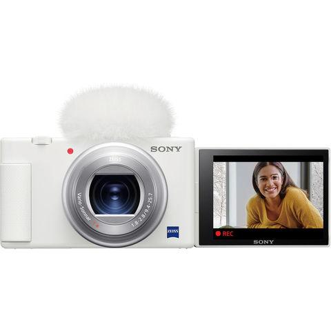 Sony DSC-ZV1W белого цвета в фирменном интернет-магазине