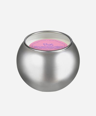 Свеча-шар серебро mini Veronica