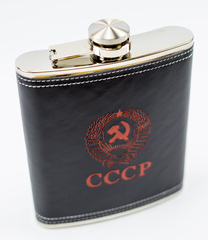 Подарочный набор СССР из фляги 540 мл, 4-х стопок и воронки, фото 2