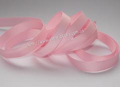 Лента репсовая светло-розовая ширина от 6 до 38 мм