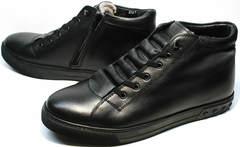 Качественные мужские зимние ботинки Ridge 6051 X-16Black