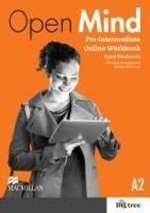 Open Mind British English Pre-intermediate Online Workbook