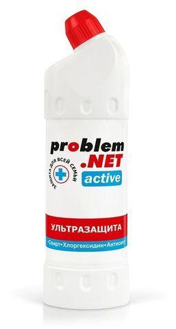 Обеззараживающий спрей (без распылителя) для рук Problem.net Active - 1000 мл.