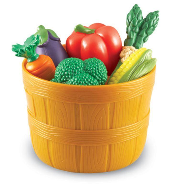 """игровой набор """"Овощи в ведерке"""""""