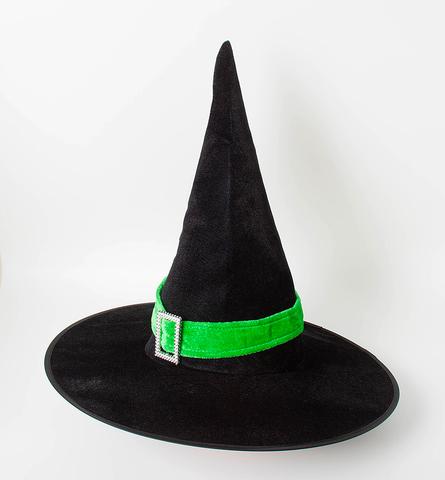 Карнавальная шляпа Конус, Черный