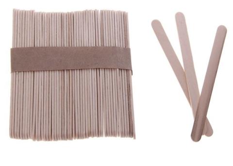 056-4267 Деревянные палочки, 50шт.- 11,5 см, неокрашенные
