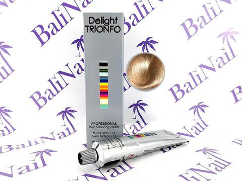 TRIONFO 12-2 стойкая крем-краска для волос Специальный блондин пепельный, 60 мл