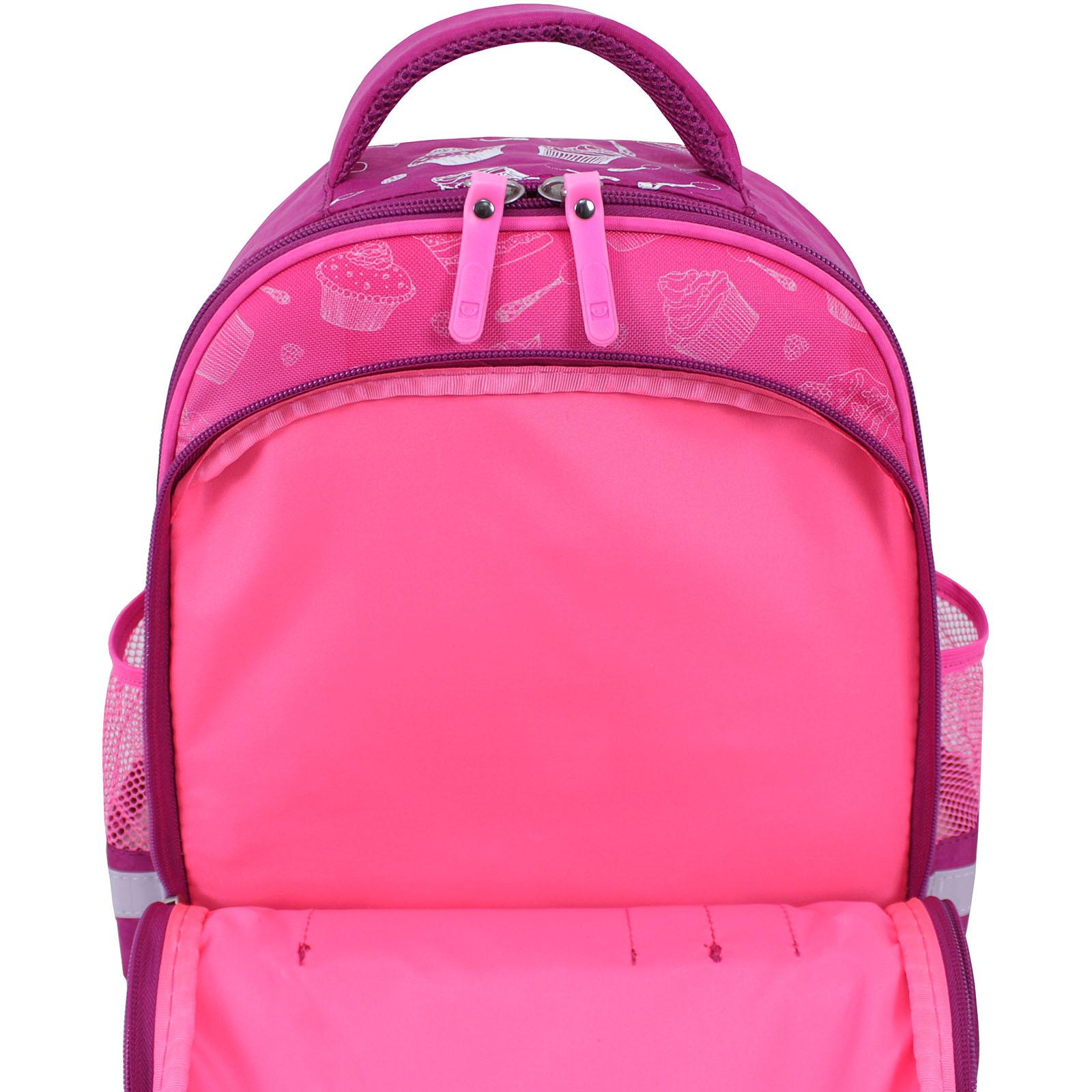 Рюкзак школьный Bagland Mouse 143 малиновый 593 (0051370) фото 4