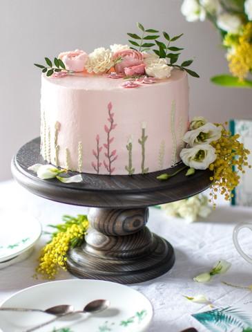 Круглая подставка для торта и капкейков