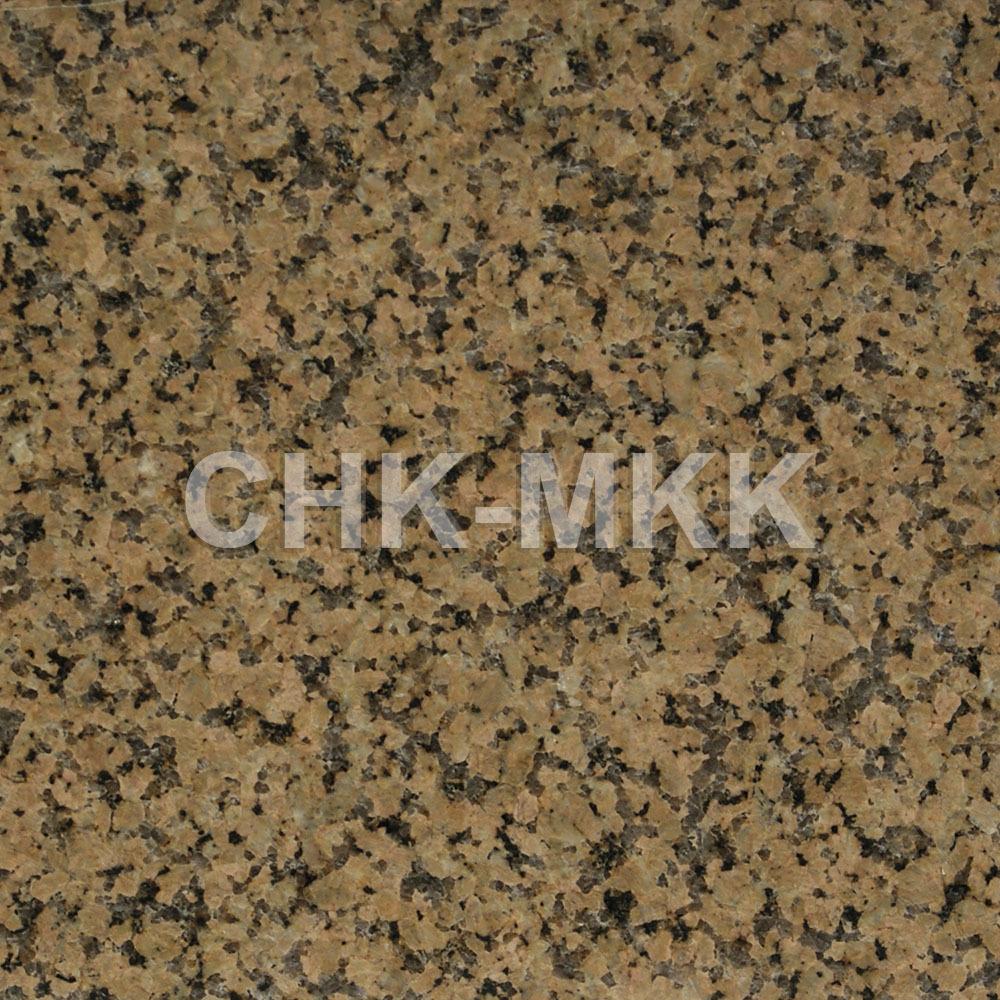 Бордюрный камень из гранита Джиль тау желтый