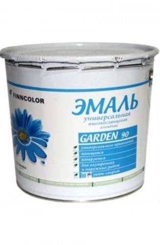 Finncolor Garden 90/Финнколор Гарден 90 эмаль алкидная глянцевая