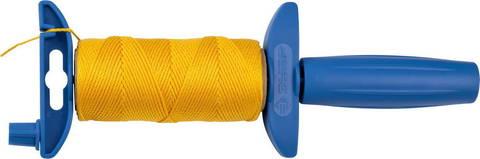 Шнур ЗУБР нейлоновый, для строительных работ, сменная шпуля, на катушке, 50м