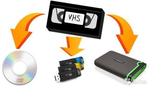 Оцифровка кассет, пластинок на DVD диск