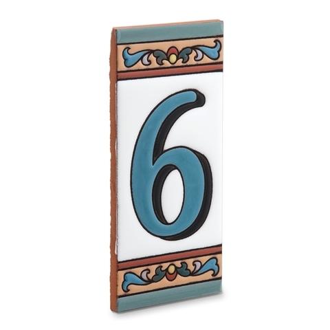 Цифра 6 на дом