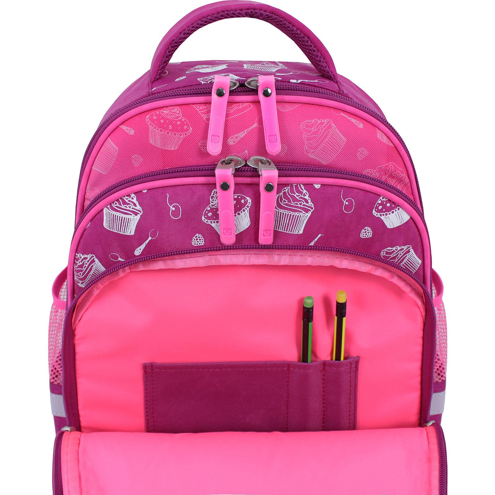 Рюкзак школьный Bagland Mouse 143 малиновый 593 (0051370) фото 5
