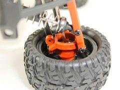 Радиоуправляемый монстр Remo Hobby SMAX UPGRADE 4WD RTR масштаб 1:16 2.4G - RH1631UPG-BLUE