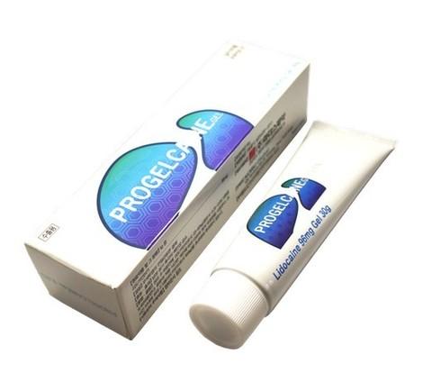 *Гель Progelcaine gel (Lidocaine 9,6%/30 г/201998)