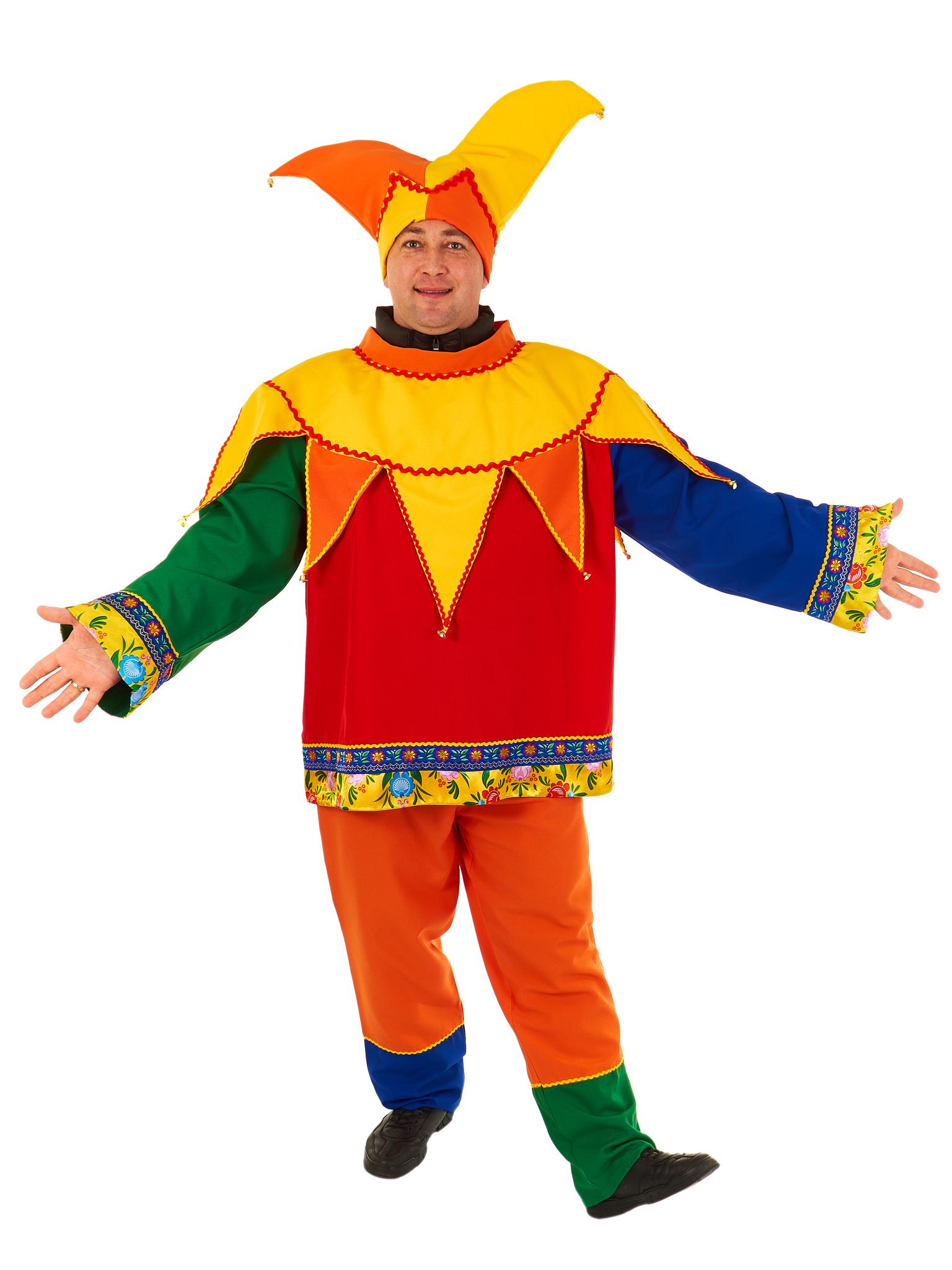 Карнавальный костюм Скомороха на верхнюю одежду