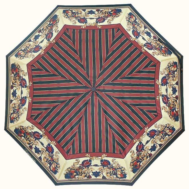 Зонт складной Pierre Cardin 88637-B Prestige Red & Beige