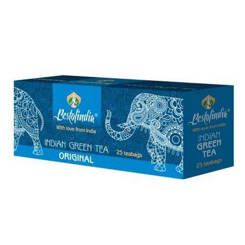 Чай ORIGINAL зеленый индийский пакет 25г Bestofindia