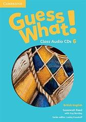 Guess What! 6 Class Audio CDs (3)