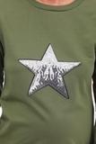 Спортивный костюм для беременных 09976 хаки