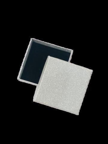 Подарочная коробка серебро2