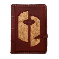 Ежедневник кожаный в стиле 19 века модель 5