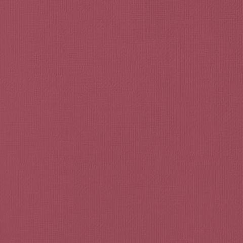 Текстурированный кардсток 30х30 American Crafts Textured Cardstock - Цвет Crimson