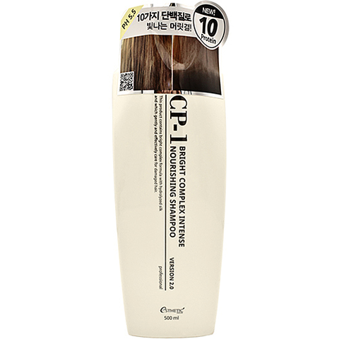 Esthetic House Шампунь для волос протеиновый - CP-1 BC Intense nourishing shampoo 2.0, 500мл
