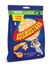 Готовый завтрак Kosmostars медовый 450г