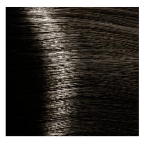 Крем краска для волос с гиалуроновой кислотой Kapous, 100 мл - HY 6.00 Темный блондин интенсивный