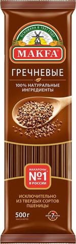 Макароны Спагетти гречневая, 500 гр. (МАКФА)